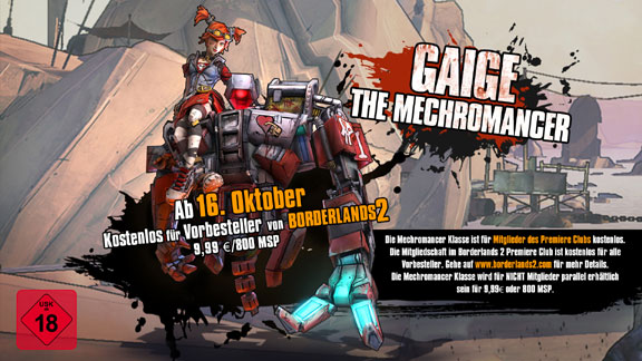 Gaige Mechromancer