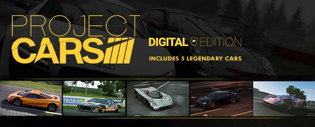 Project Cars Bonus digital