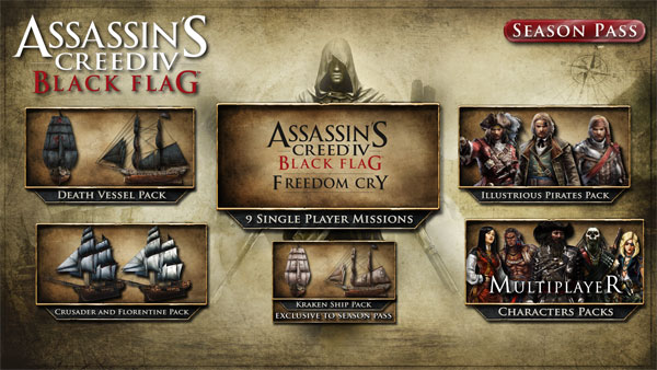 Assassin's Creed IV BlackFlag - SeasonPass