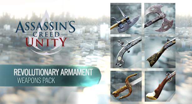 Resultado de imagen para DLC Revolutionary Armaments Pack