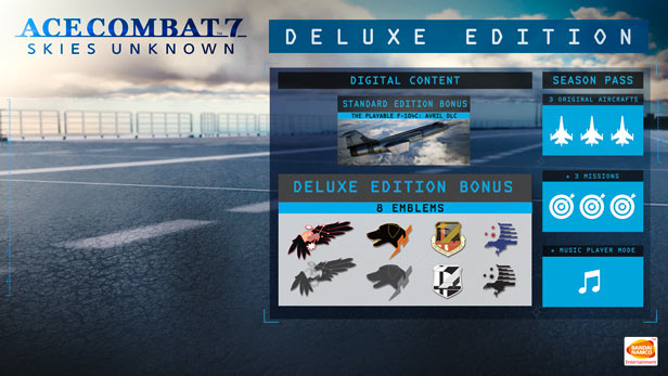 Ace Combat 7 - Skies Unknown - Deluxe Edition