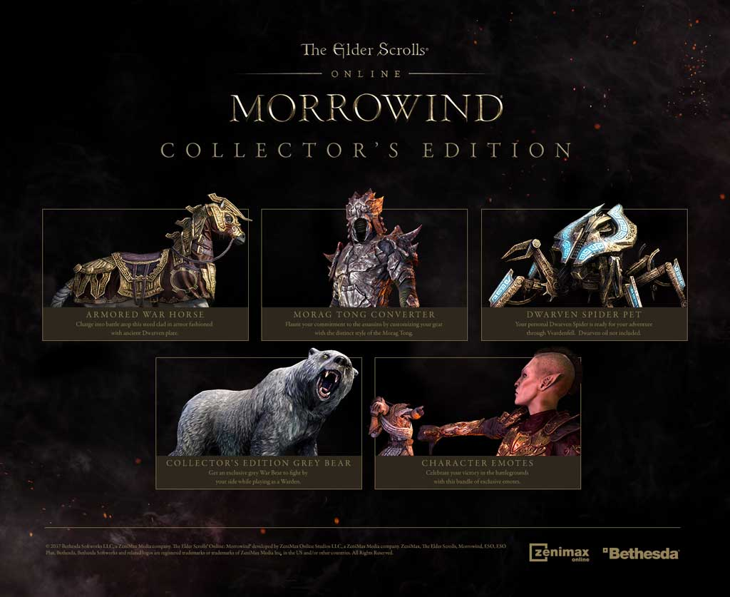 The Elder Scrolls Online: Morrowind Digital Collector's Edition