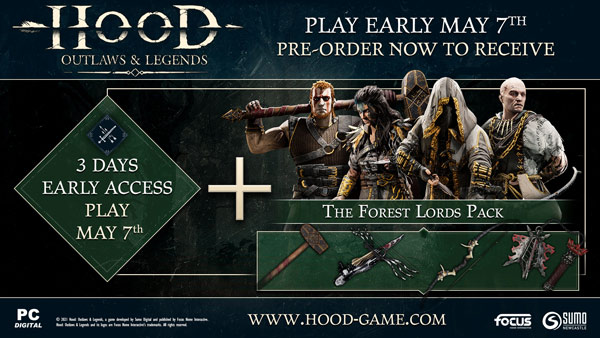 Hood: Outlaws & Legends pre-order offer