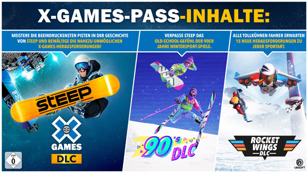 Steep - X Games - Pass