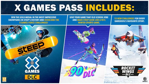 Steep - X Games - Pass