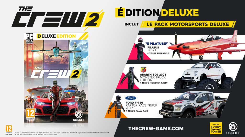 The Crew 2 - Deluxe Edition