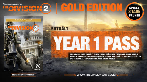 Tom Clancy's - The Division 2 - Gold Edition