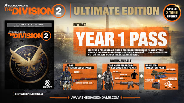 Tom Clancy's - The Division 2 - Ultimate Edition