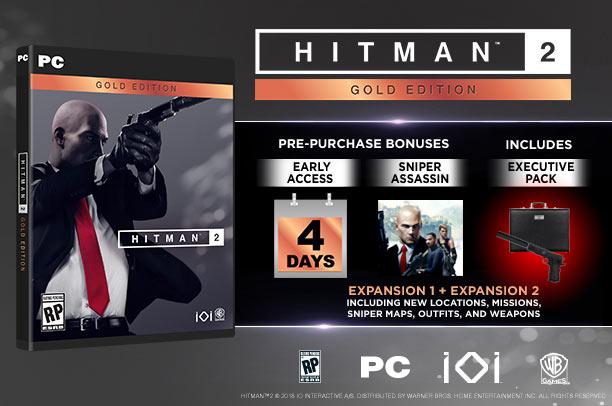 Hitman2 Gold