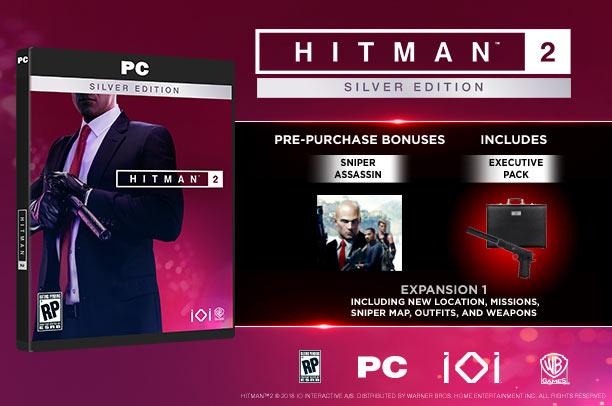 Hitman2 silver