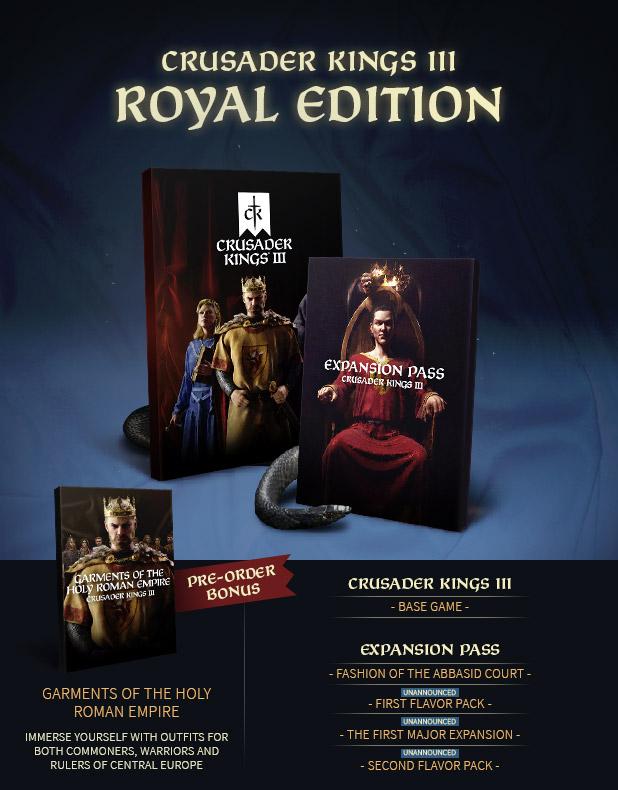 Crusader Kings III Pre-order