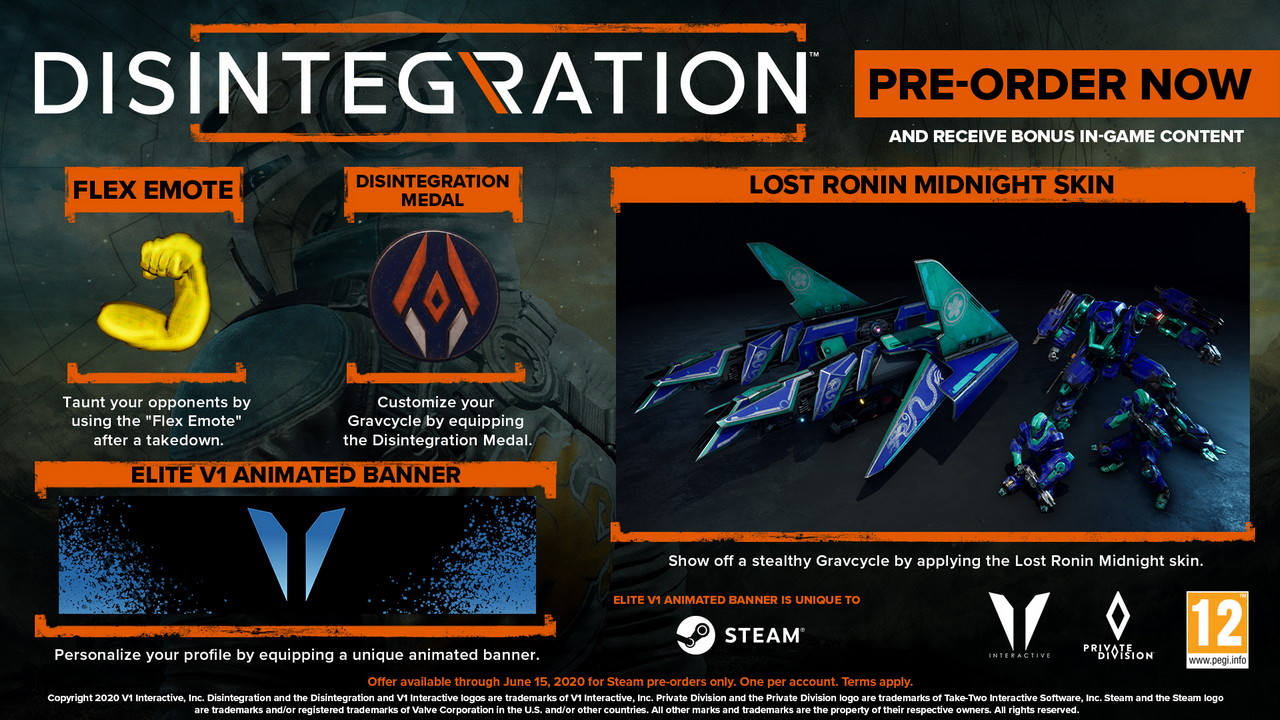 Disintegration Pre Order