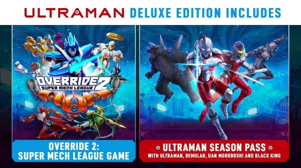 Overrride 2 Ultraman Edition content