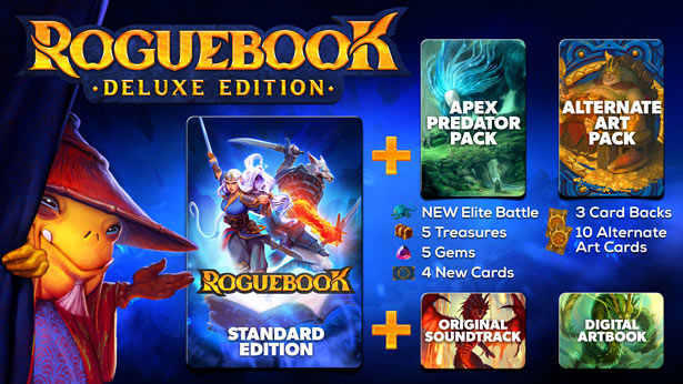 Roguebook deluxe